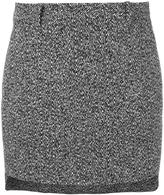 Neil Barrett mini straight skirt - women - Cotton/Polyamide/Polyester/Viscose - 40