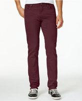 William Rast Men's Slim-Fit Straight-Leg Dean Twill Pants