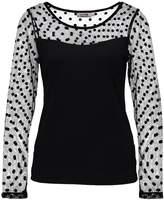 Molly Bracken Long sleeved top black