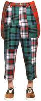 Comme des Garcons Boy Patchwork Wool Pants & Suspenders