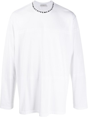 Givenchy perforated T-shirt