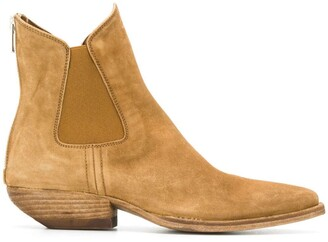 Officine Creative Western Ankle Boots