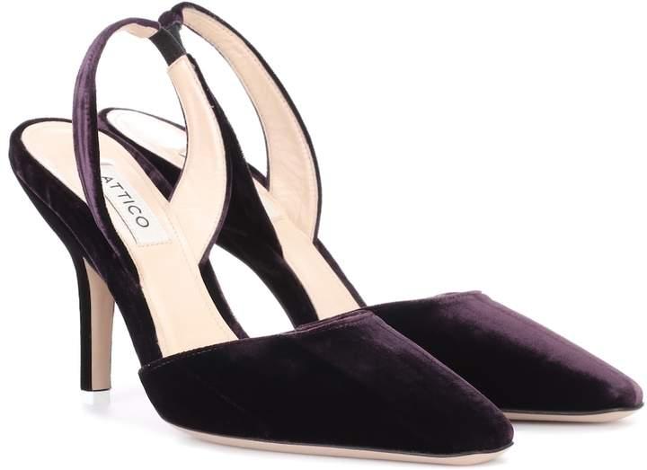 14b09fee8 Purple Slingback Heels - ShopStyle UK
