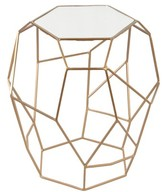 Ren Wil Renwil Iron & Glass Accent Table