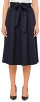 STUDIO W Belted Paperbag Skirt