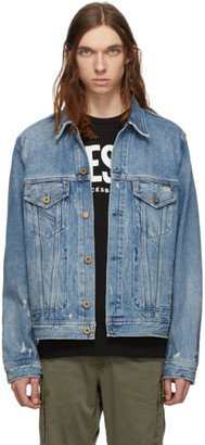 Diesel Blue Denim D-Bray Jacket