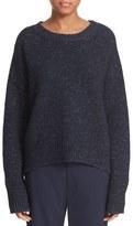 Vince Drop Shoulder Wool Blend Crewneck Sweater