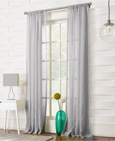 "Lichtenberg No. 918 Silvia Semi-Crushed Sheer Rod Pocket 50"" x 84"" Curtain Panel"