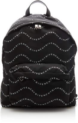 Givenchy Urban Logo Canvas Backpack