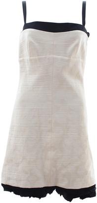 Balenciaga White Linen Dresses