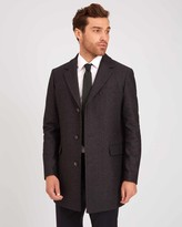 Wool Mid Length Overcoat