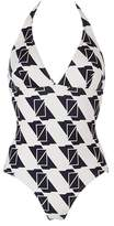 Petit Bateau Womens one-piece printed swimsuit