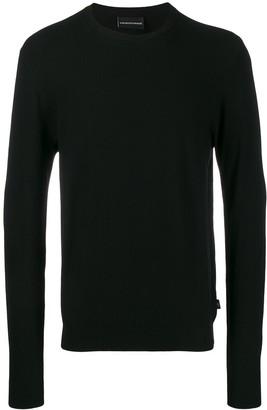 Emporio Armani crew-neck sweater