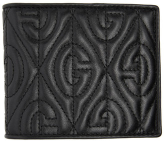 Gucci Black Quilted GG Wallet
