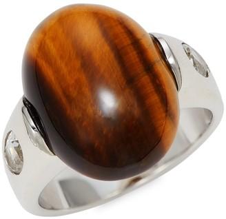 Effy Tiger's Eye Sterling Silver Ring