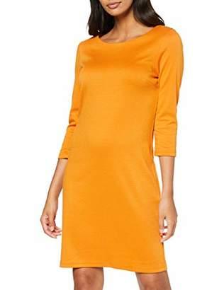 Vila NOS Women's Vitinny New Dress-noos, Yellow Golden Oak, 12 (Size: Medium)