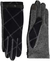 Lauren Ralph Lauren Plaid RLL Monogram Touch Glove