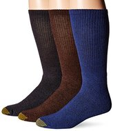 Gold Toe Men's Uptown Crew Fashion Socks (Pack of 3)