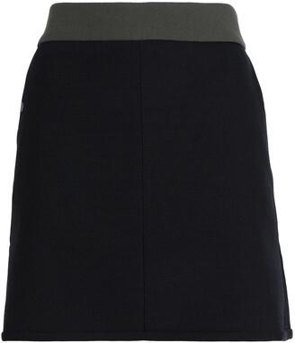 Cefinn Two-tone Canvas Mini Skirt