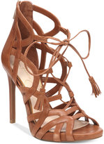 Jessica Simpson Racine Lace-Up High-Heel Gladiator Sandals