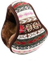 Harulucky Unisex Knit Foldable EarMuffs Plus velvet Ear Muffs Winter Outdoor EarMuffs