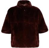 Diane von Furstenberg Terry fur jacket