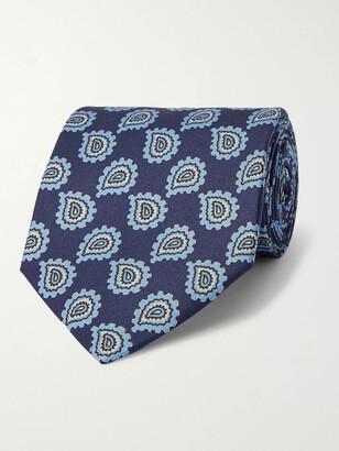 E.Marinella 8.5cm Paisley-Print Silk-Twill Tie