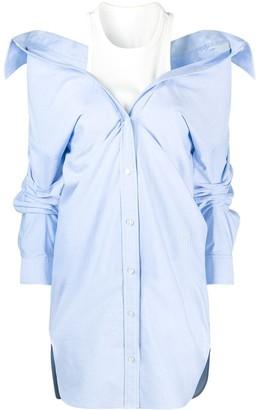 alexanderwang.t Off-Shoulder Shirtdress