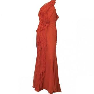 Jenny Packham Red Silk Dresses