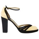 Chloé Ecru Leather Heels