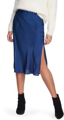 1 STATE Midi Slip Skirt