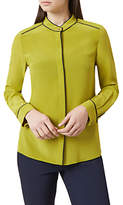 Hobbs Dotty Blouse, Chartreuse