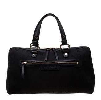 Bvlgari Black Cloth Handbags