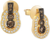 LeVian Le Vian Chocolatier® Chocolate Deco EstateTM Gold Diamond (3/8 ct. t.w.) Stud Earrings in 14k Gold