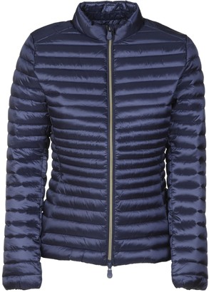 Save The Duck Stand-up Collar Zip Padded Jacket