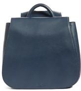 Steven Alan Kate Calfskin Leather Backpack - Blue