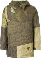 MHI quilted patchwork parka