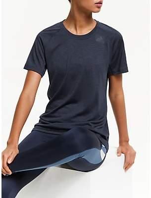 adidas Prime 3-Stripes Short Sleeve Training Top