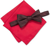 Alfani Men's Venus Neat Bow Tie & Solid Pocket Square Set, Only at Macy's
