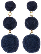 Yochi Line up your Pompoms Earings