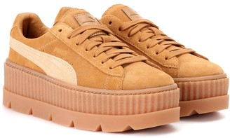 Fenty by Rihanna Cleated Creeper suede sneakers