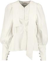 J.W.Anderson Crepe peplum blouse