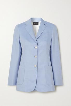 Akris Gan Cashmere-blend Blazer - Blue