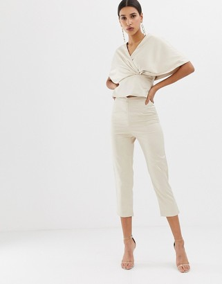 Club L London Club L tailored crop trouser