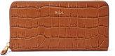 Ralph Lauren Embossed Newbury Zip Wallet