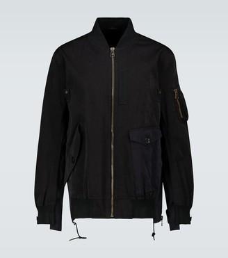 Sacai Ten c bomber jacket