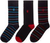 Pringle Men's 3 Pack Stripe Sock