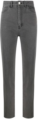 David Koma High-Waist Slim Jeans