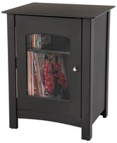 Crosley ST75-BK Bardstown Entertainment Cabinet, Black