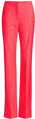 Rag & Bone Jess Slim-Fit Straight-Leg Twill Pants